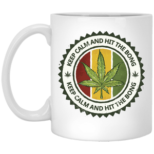 """Keep Calm & Hit the Bong"" Mug"