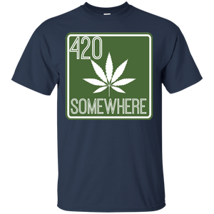 """420 Somewhere"" SS Tee"