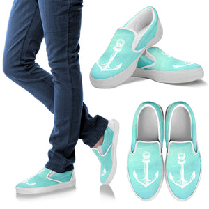 Serene Anchor Slip on Shoes - Capt. Jack