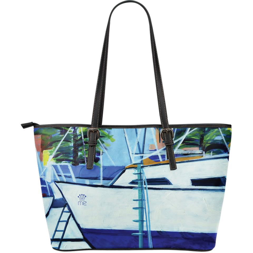 Boat Large Tote Bag - Capt. Jack