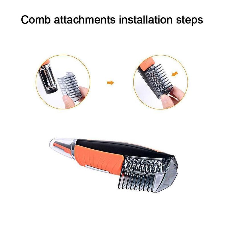 CJ Micro Touch -  2 in 1 Hair Trimmer - Capt. Jack