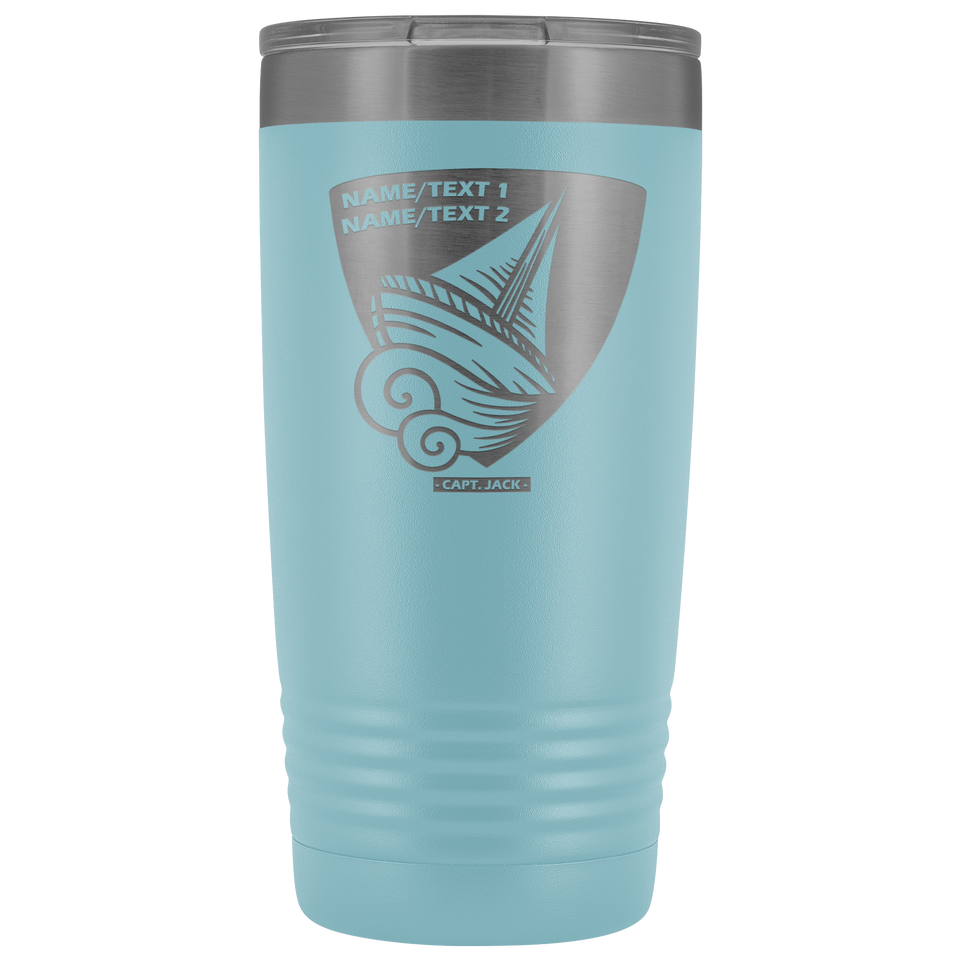 Personalized Sailing Tumbler