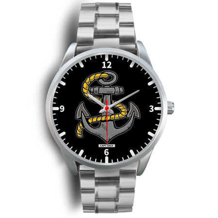 Vintage Anchor Watch - Silver Case - Capt. Jack