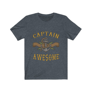 Captain Awesome Shirt - Capt. Jack