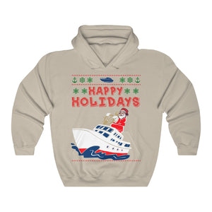Capt. Santa Jack Hooded Sweatshirt - Light Variant - Capt. Jack