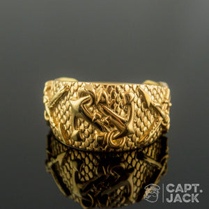 Fisherman's Ring - 14k /18k Gold - Capt. Jack