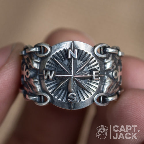 Compass Ring - Capt. Jack