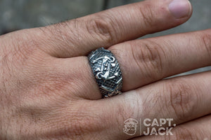 Fisherman's Ring - Silver - Capt. Jack