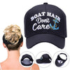 Boat Hair, Don't Care Ponytail Cap - Capt. Jack