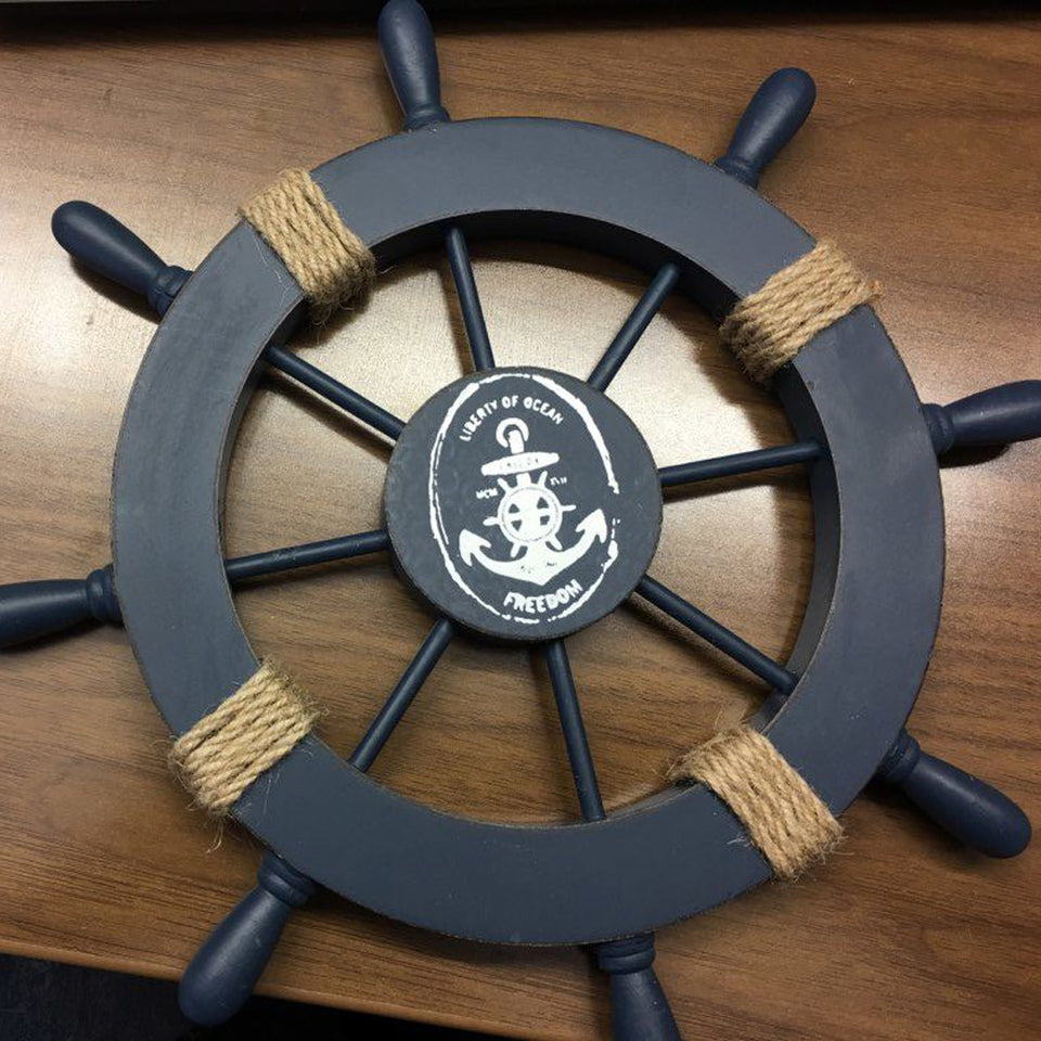 Liberty Of Ocean Ship Wheel