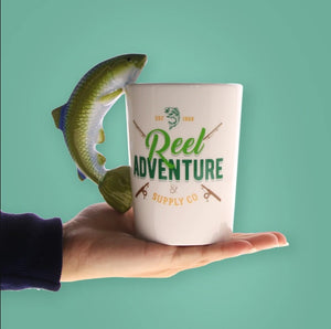 The Reel Bait Coffee Mug
