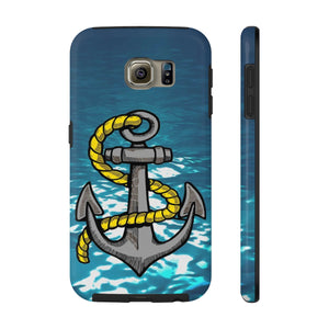 Anchored Case Mate Tough Phone Cases - Capt. Jack