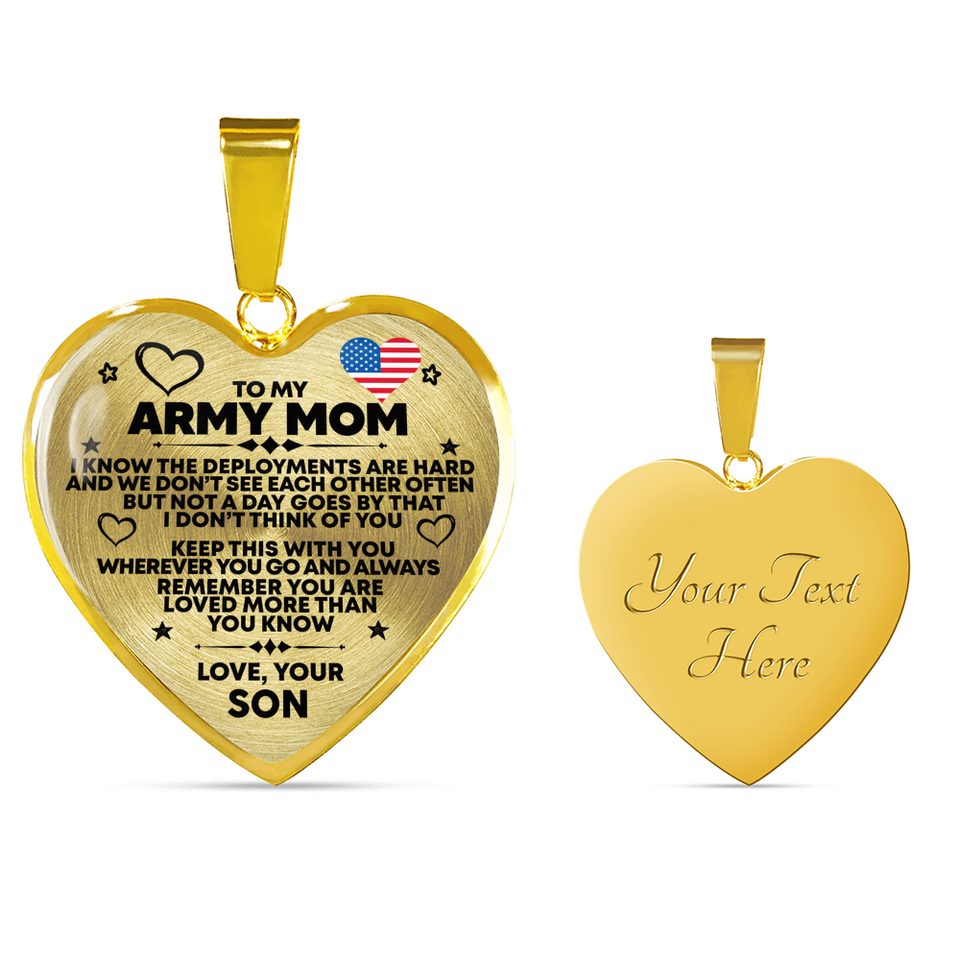 ARMY MOM - MOTHER'S DAY NECKLACE - Capt. Jack