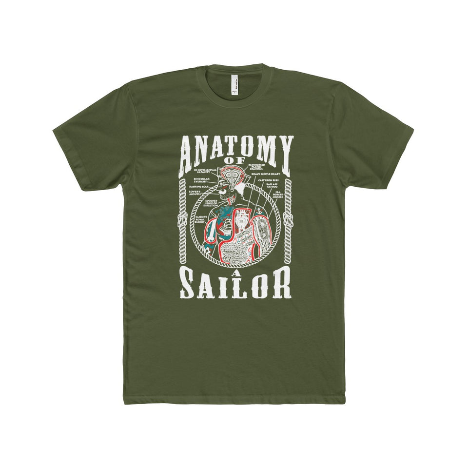 Anatomy of The Sailor - Capt. Jack