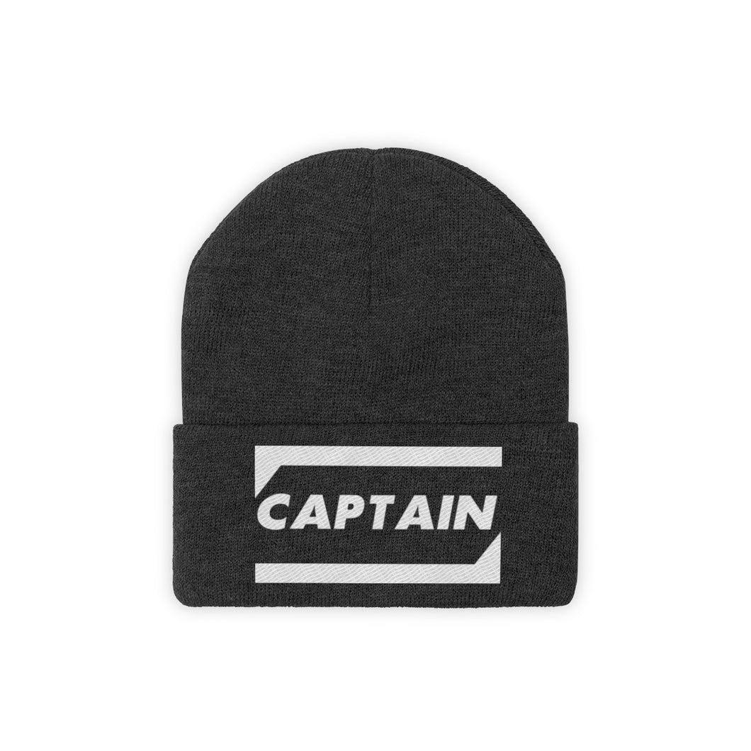 CAPTAIN Knit Beanie