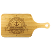 Home is where the anchor drops - Cutting Board - Capt. Jack