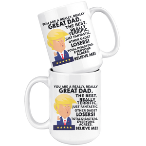 Really. You are a Great Dad - Mug - Capt. Jack