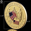 1777 Betsy Ross Flag Commemorative Coin - Capt. Jack