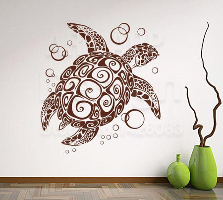 Oceanic Turtle Wall Sticker - Capt. Jack