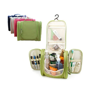 Portable Large Storage Folding Waterproof Hanging Toiletry Bags