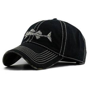 Skulled Fish Cap - Capt. Jack
