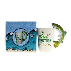 The Reel Bait Coffee Mug - Capt. Jack