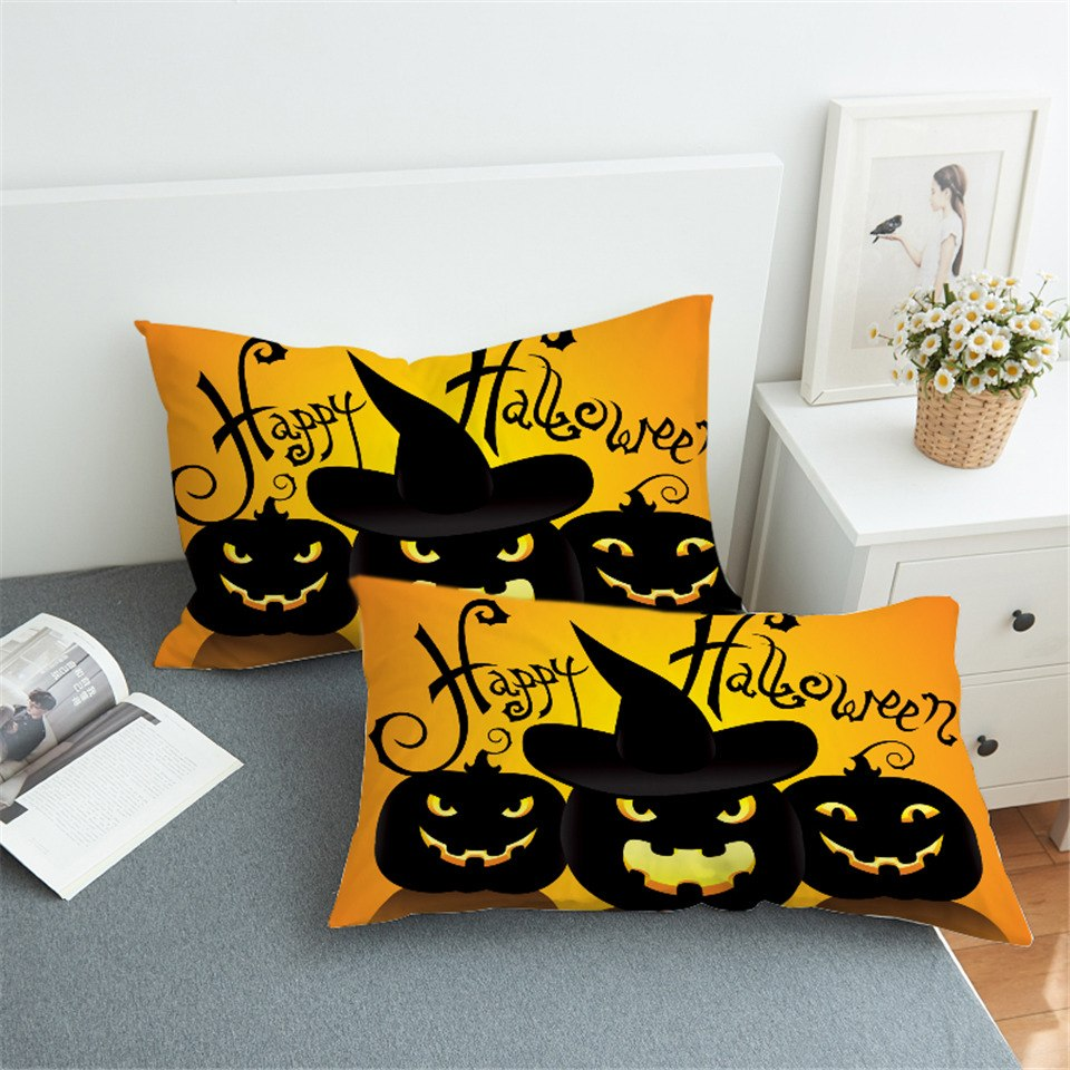 Happy Halloween Pillowcase - Capt. Jack