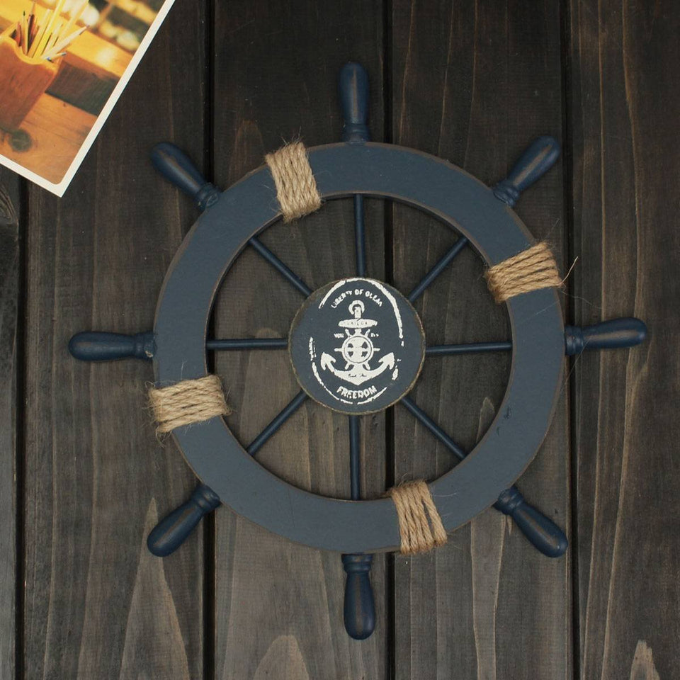 Liberty Of Ocean Ship Wheel - Capt. Jack