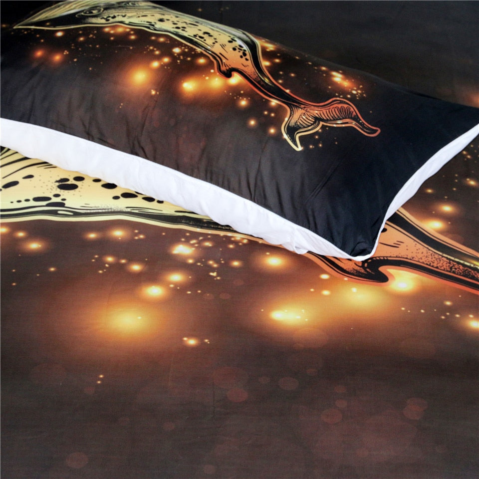 Golden Whale - Bedding Set - Capt. Jack