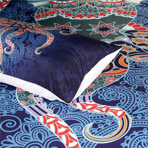 Octopus Boho Bedding Set - Capt. Jack