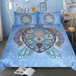 Bohemian Turtle Bedding Set - Capt. Jack