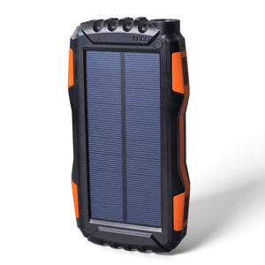 CJ Solar Waterproof Power Bank 20000mAh - Capt. Jack