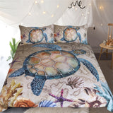 Tropical Turtle Bedding Set - Capt. Jack