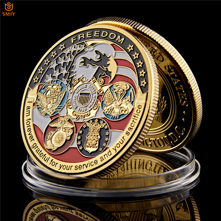 Freedom Commemorative Coin - Capt. Jack