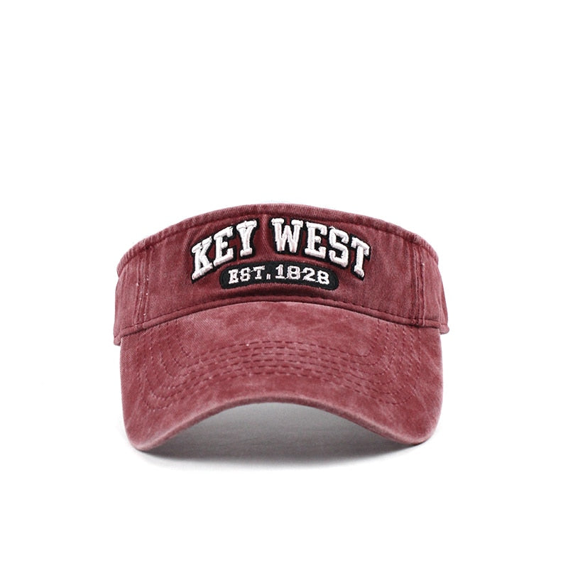 Key West Visor Cap - Capt. Jack