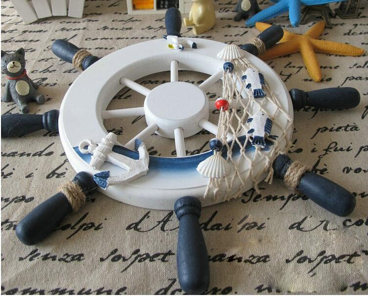 Steering Wheel Vintage Home Decor - Capt. Jack