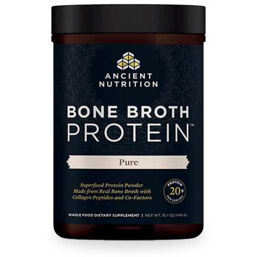 Ancient Nutrition, Bone Broth Protein, Pure, 455 g