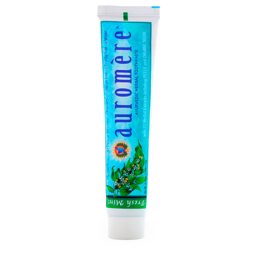 Auromere, Ayurvedic Herbal Toothpaste, 117 g