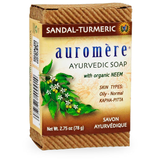 Auromere, Ayurvedic Soap with Neem, 78 g