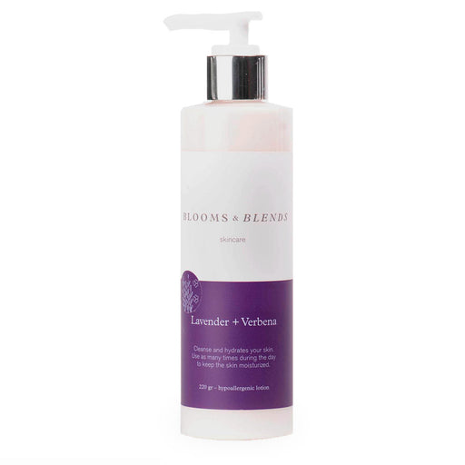 Blooms & Blends, Crema Corporal, Lavender and Verbena, 220 g