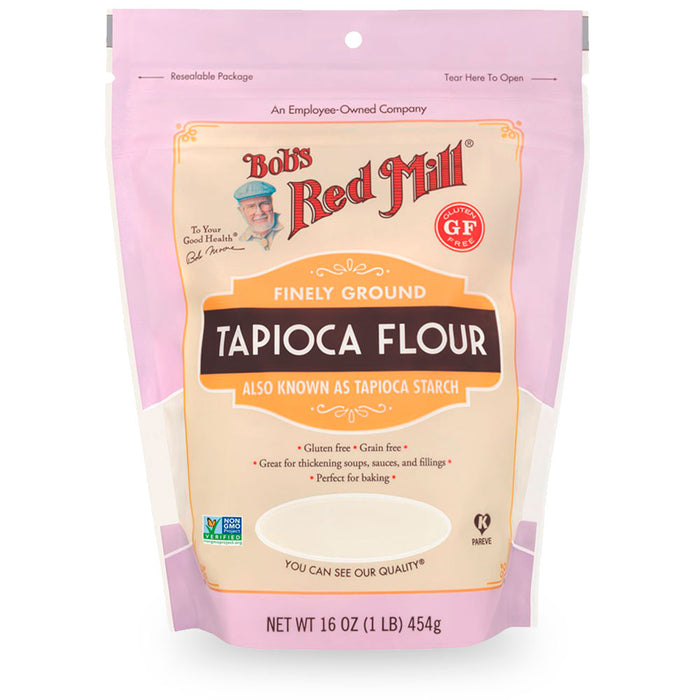 Bobs Red Mill, Finely Gound Tapioca Flour, 454 g