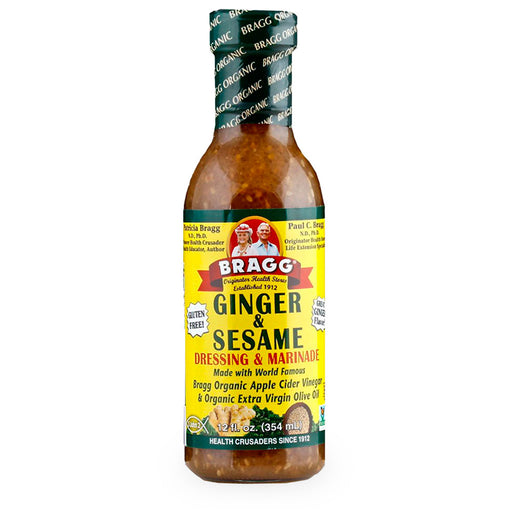 Bragg, Ginger and Sesame Dressing,  354 ml