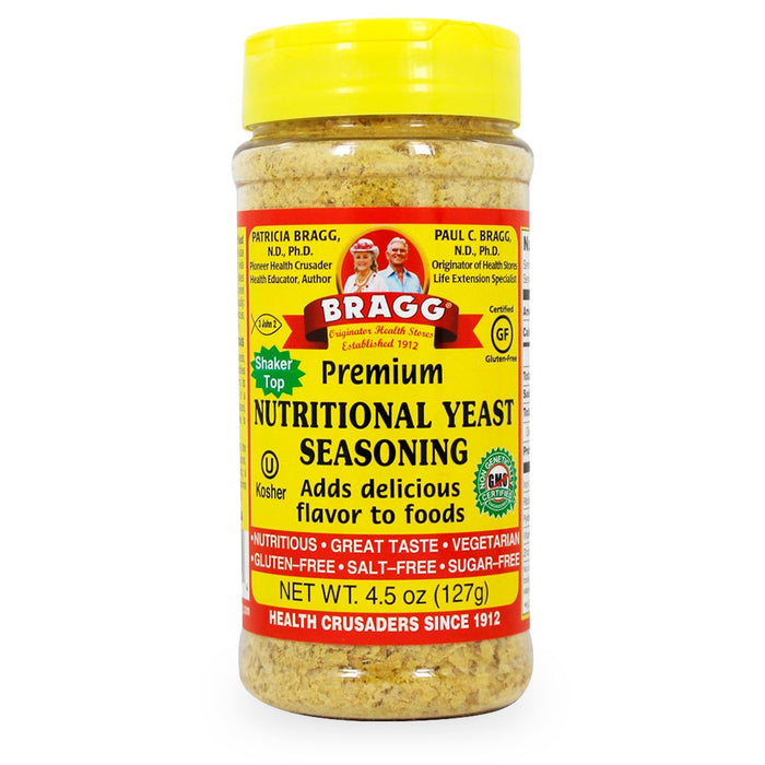 Bragg, Premium Nutritional Yeast Seasoning, 127 g
