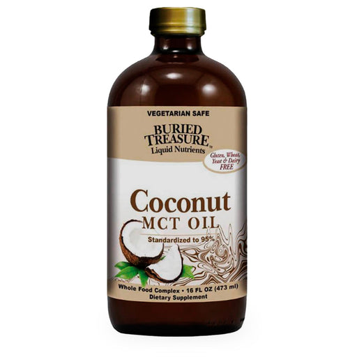 Buried Treasure, Coconut MCT Oil, 473 ml