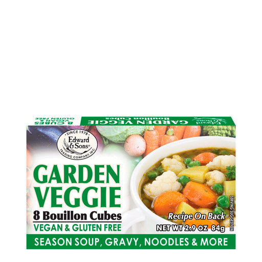 Edward and Sons, Garden Veggie Cubes, 84 g