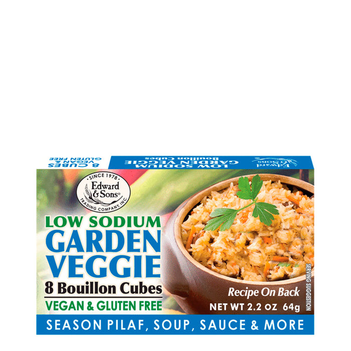 Edward and Sons, Low Sodium Garden Veggie, 64 g