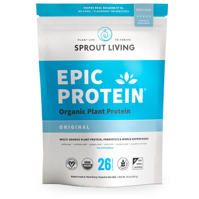 Sprout Living, Epic Protein, Original, 455 g