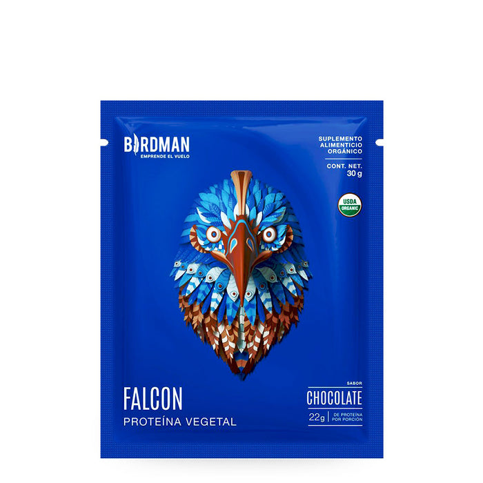 Birdman, Falcon, Proteina Vegetal, Chocolate