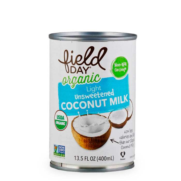 Field Day, Coconut Milk Unsweetened, 400 ml