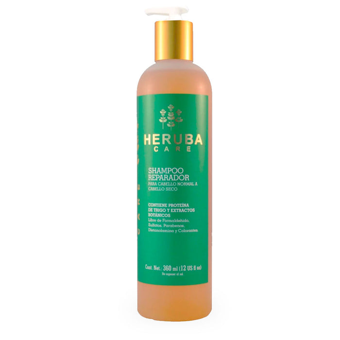 Heruba Care, Shampoo Reparador, 360 ml